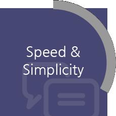 Speed & Simplicity
